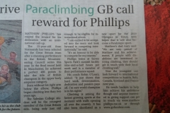 GB Paraclimbing Team Invitation