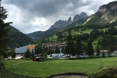 Campitello Di Fassa, Wall and Cable Car