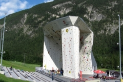 Spectacular Climbing Wall in Imst
