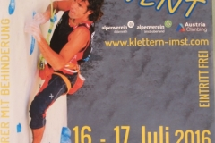 Local Poster for Paraclimbing Event