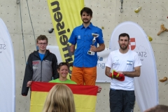Podium at Imst. Missed Gold by 1 point.